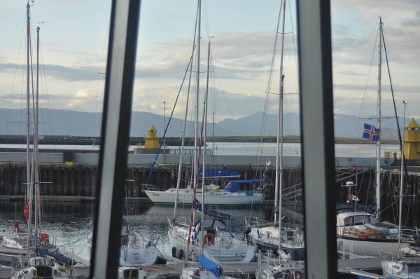 PASJA w Reykjavik Yacht Club.