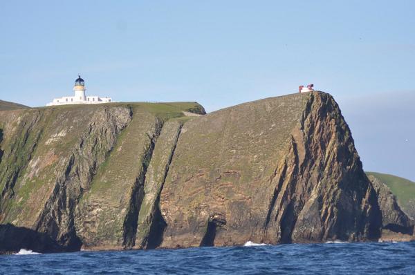 Fair Isle, mała wyspa między Orkneys i Shetlands.