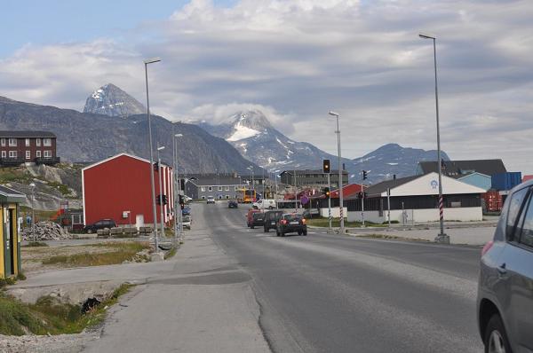 Nuuk, Grenlandia.