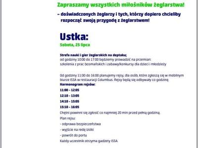 Festiwal Żagli ISSA 2015 Ustka