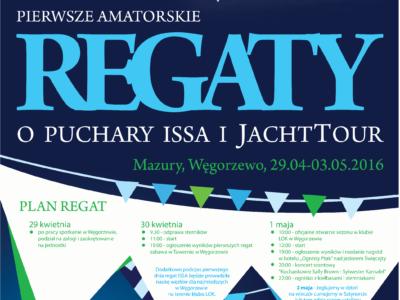 JACHTTOUR-CUP 2016 Pierwsze amatorskie regaty o puchary ISSA i JACHTTOUR