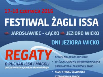 Festiwal żagli ISSA – Dni Jeziora Wicko 18-19 czerwca
