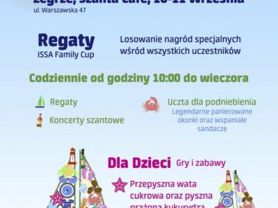 Festiwal żagli ISSA nad Zalewem Zegrzyńskim 10-11 września