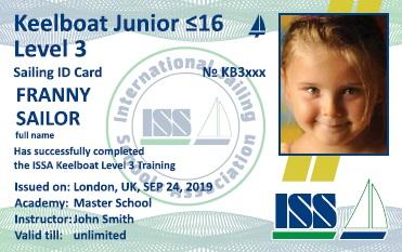Keelboat Jonior ≤16. Level 3