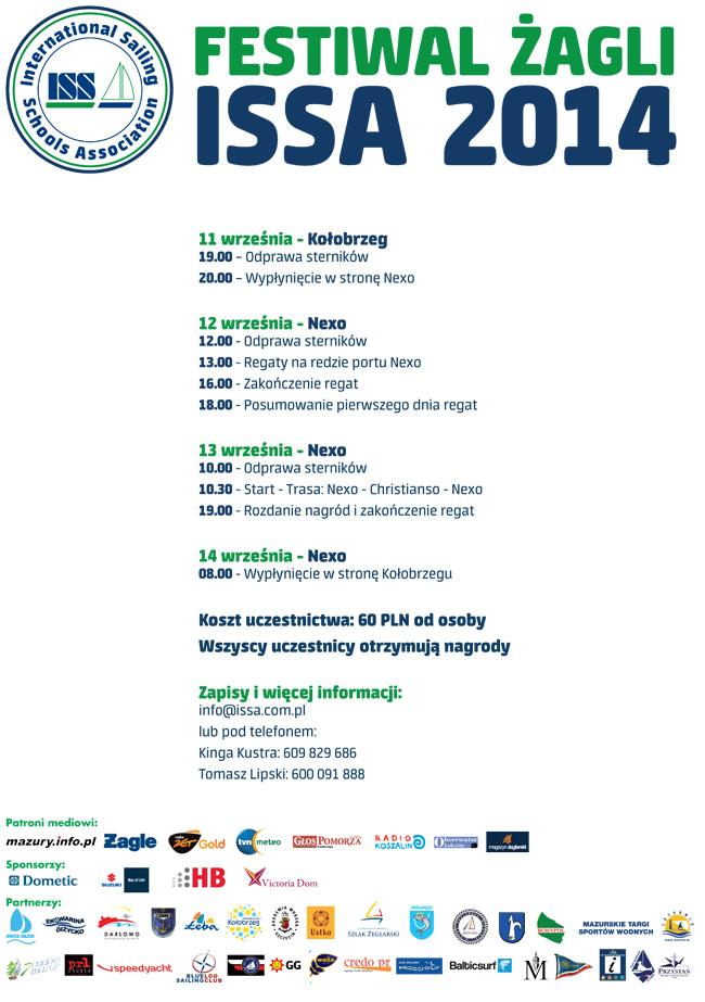 Nexo Festiwal Żagli 2014 11-14 września. Zakończenie.