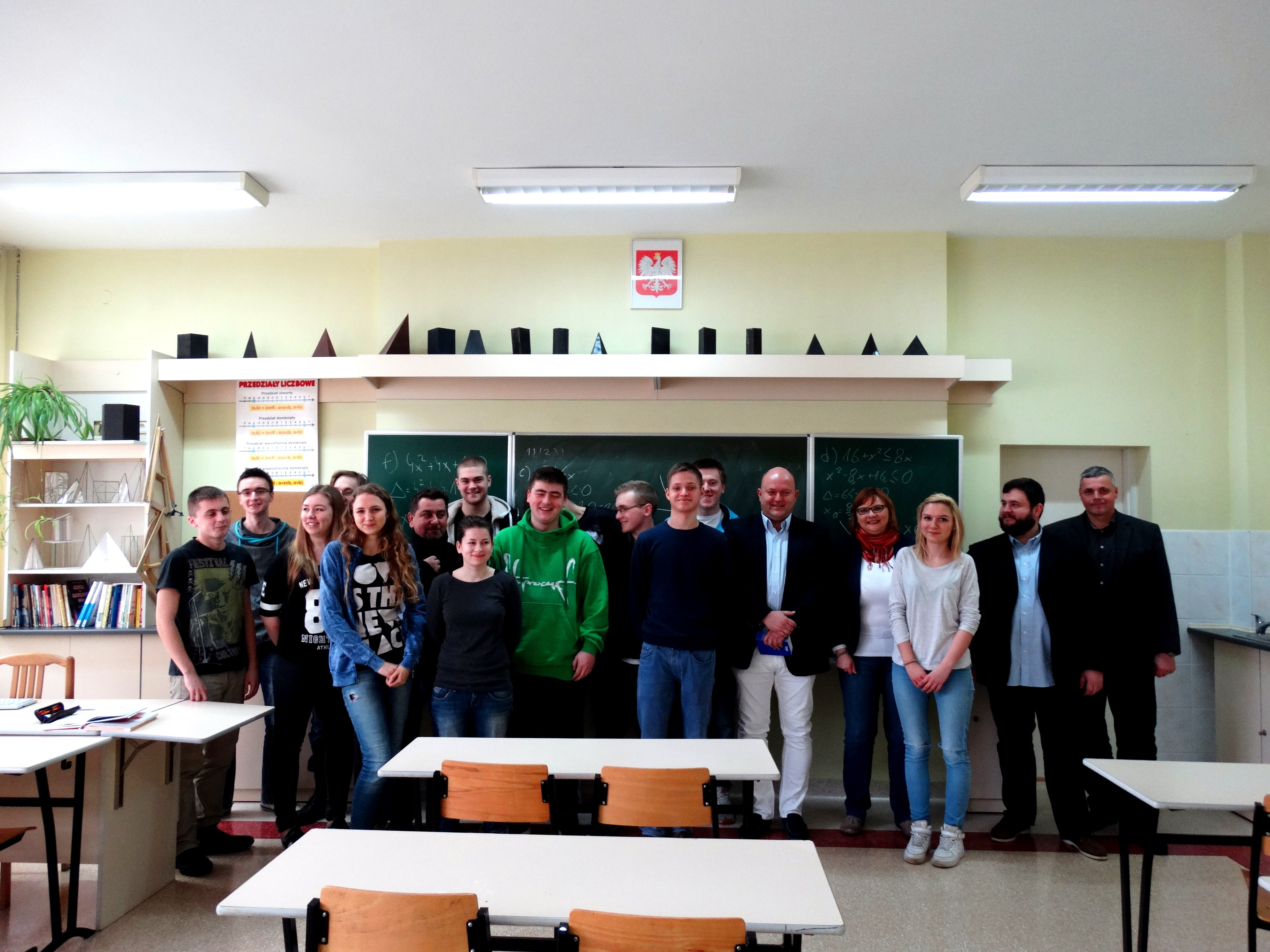 Zespół Szkół Ogólnokształcących i Technicznych w Ustce pod patronatem ISSA.