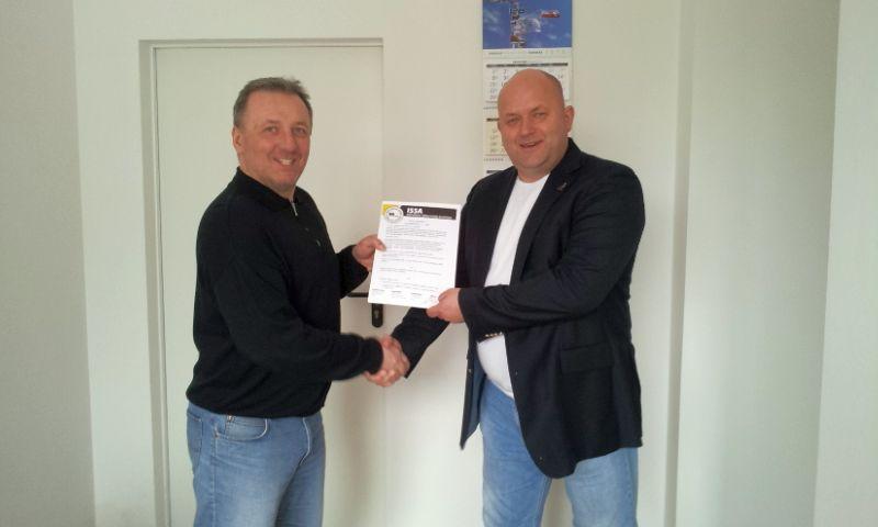 Podpisanie porozumienia o współpracy między Zachodniopomorskim Klastrem Żeglarskim a ISSA