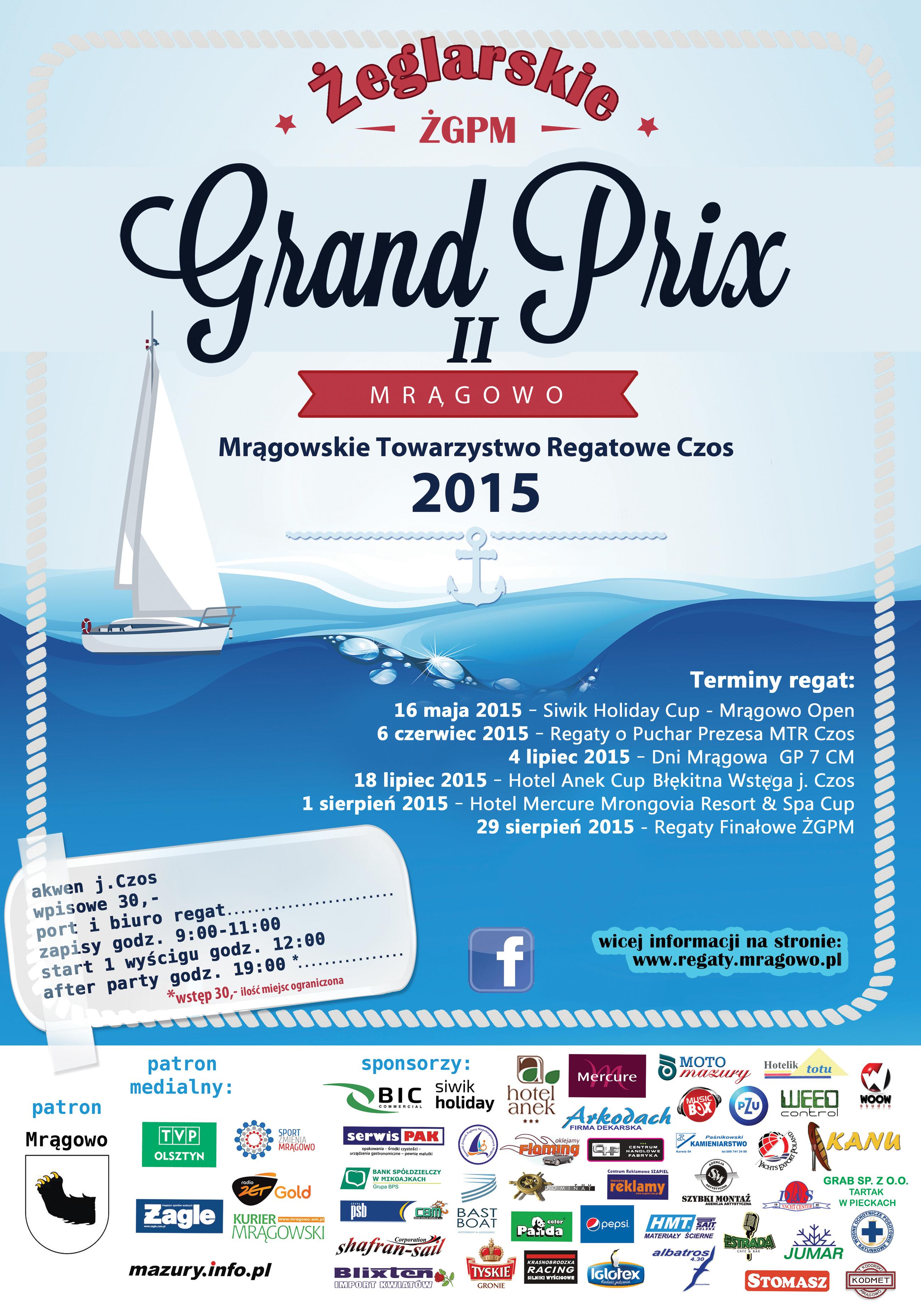 Grand Prix II Mrągowo 2015