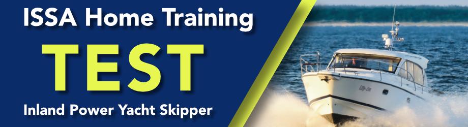 Inland Power Yacht Skipper – home training